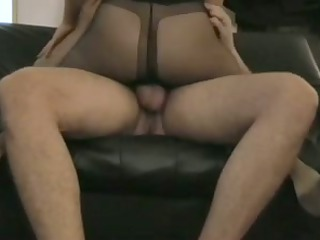 stockings wife tease