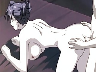 anime lady babe obtains a dick in her asshole