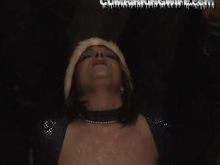 cougar inexperienced woman bizarre bukkake facials