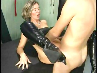 desperate older whore acquiring fisted and banged