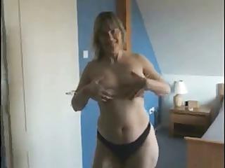 slutty milf go naked