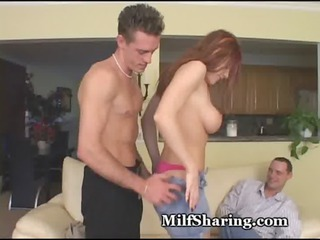 extremely impressive lady tempted by fresh penis