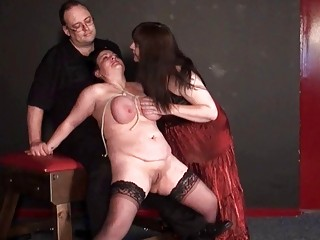 andreas older  dike bdsm and whipping to tears
