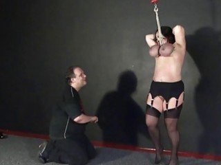 andreas boob hanging and extreme cougar bdsm