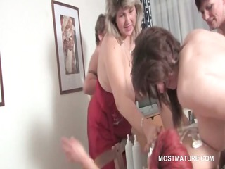 group sex lesbo matures lick vagina and fuck