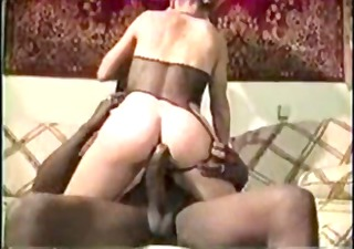 golden-haired mother i vintage interracial fuck