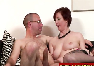 euro mother i in nylons riding pounder