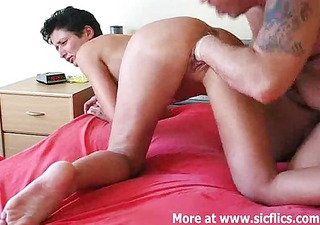 fist fucking the wifes gaping fur pie hole