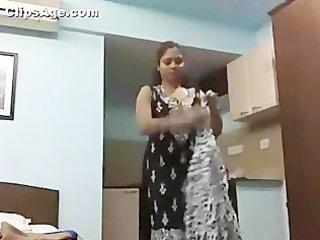 sweet indian wife lekha having on fresh bra and