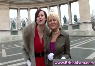 older lesbos in stockings show off
