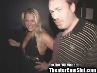 blond birthday sluts public sex theater porn