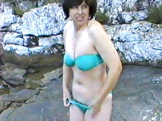 adorable woman initial occasion on nudist camp