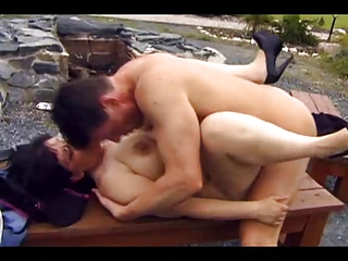 old drilled public
