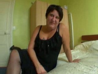 sabrina, french woman pierced inside pantyhose