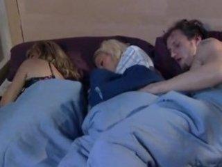 during  milf sleeps brat and fucker enjoy