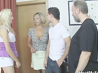 she gang-bangs his family
