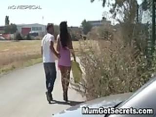 horny lady gets fucked hard openair free
