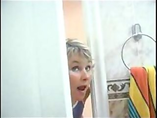 mom spying on son will he was inside tub than she