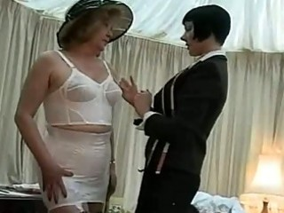 lingerie fitting for a cougar lady