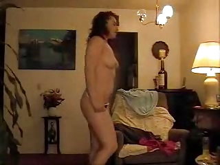 woman striptease