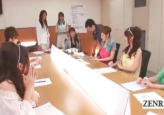 subtitles japan cougar group office cfnm