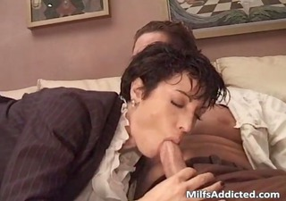 great short haired mother i got group-fucked after
