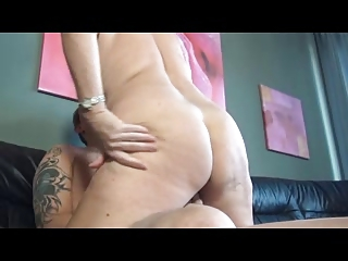 german cougar banging on the armchair
