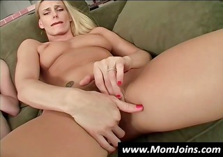 mother and daughter masturbate jointly and then