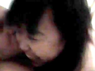 chinese cougar hooker banged with joy by american