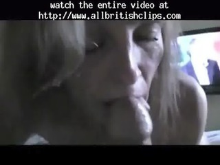 english milf little drinks from penis european