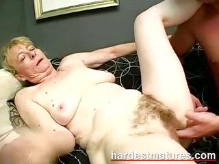 grandma sucking dick when fisting