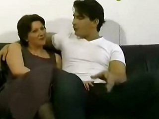 woman and son bottom