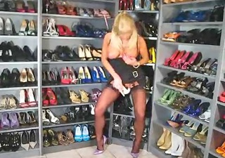 high heel masturbation