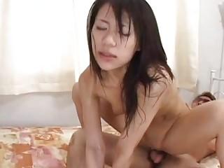extremely impressive woman riku shiina worships