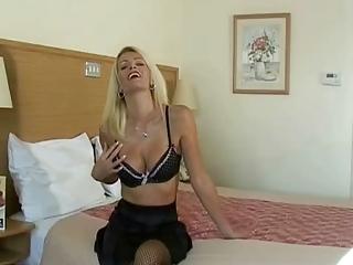 astonishing gorgeous ladies handjob to her boy