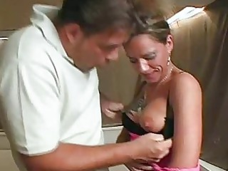 inexperienced milf  unmerciful with facial sperm