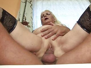 plump albino old (german)