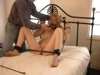 lady bondage with oliver