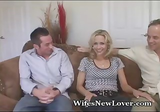 older blond takes on a juvenile lover during the