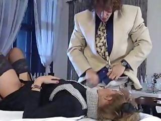 mature  oma underwear anale