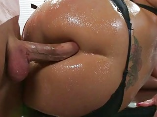 horny lady sadie swede drilled inside the butt