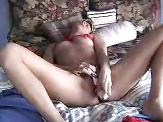 albino lady masturbate
