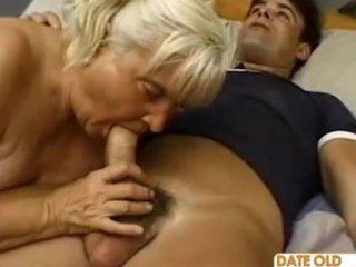 ugly plump elderly piercing
