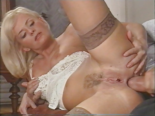 super british woman likes twin penetration by two