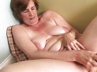 desperate lady older  masturbation